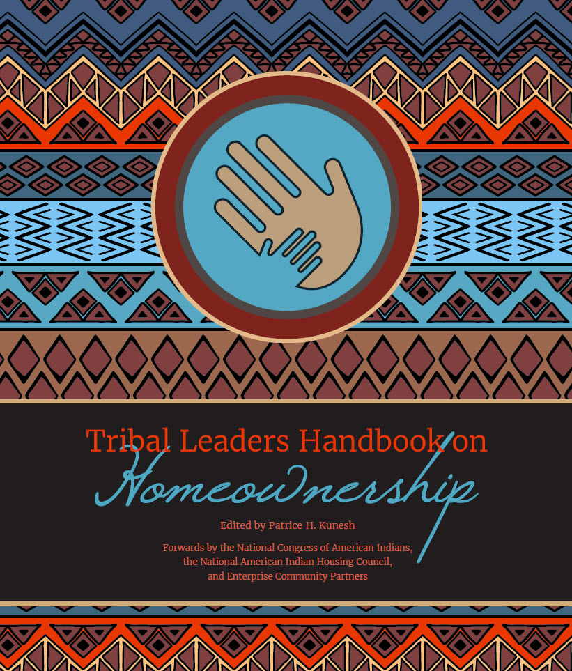 Cover of the Tribal Leaders Handbook on Homeownership