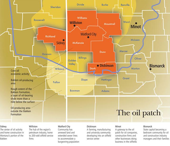 North Dakota Drilling and Production Statistics