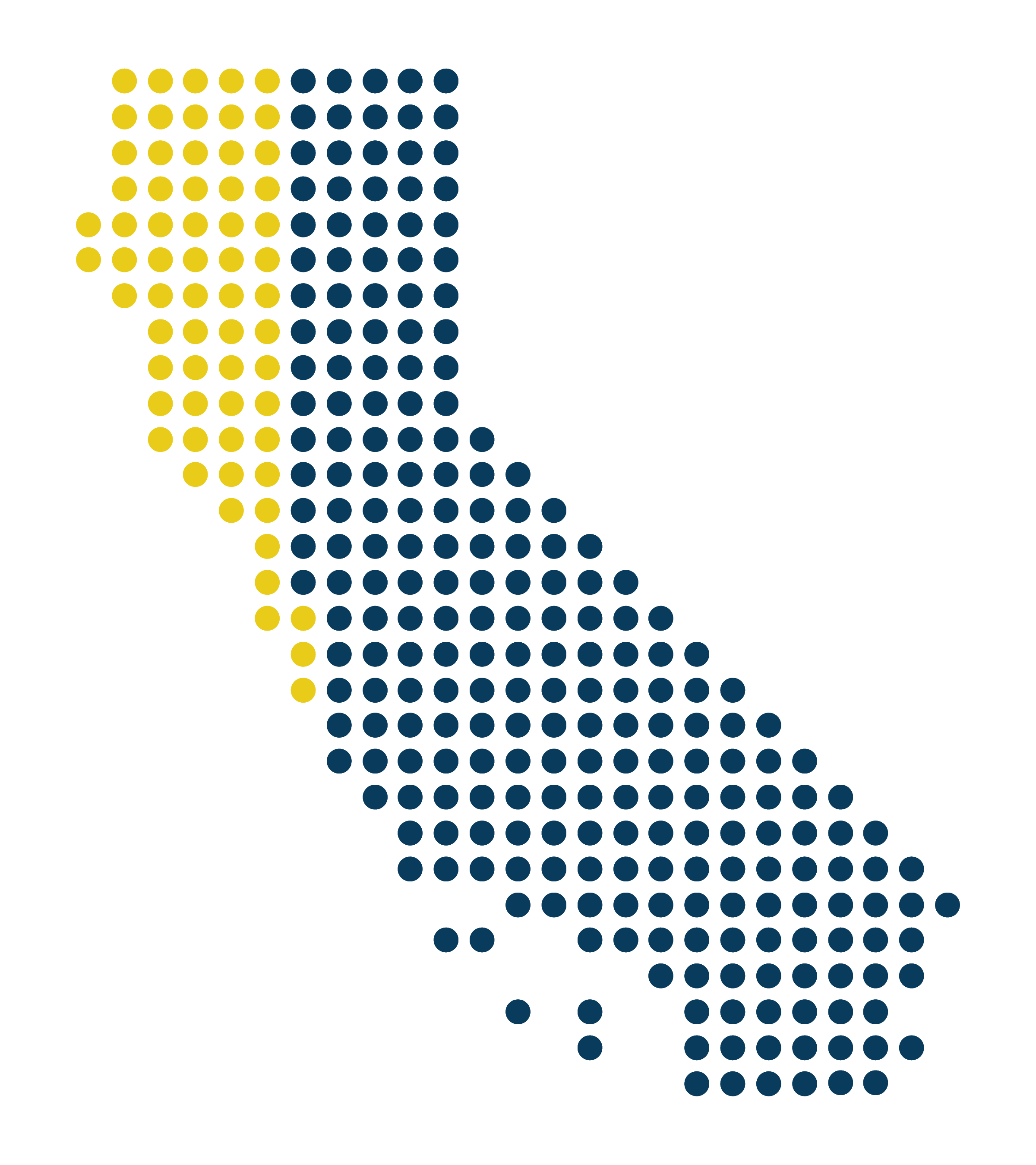 California graphic showing 20%