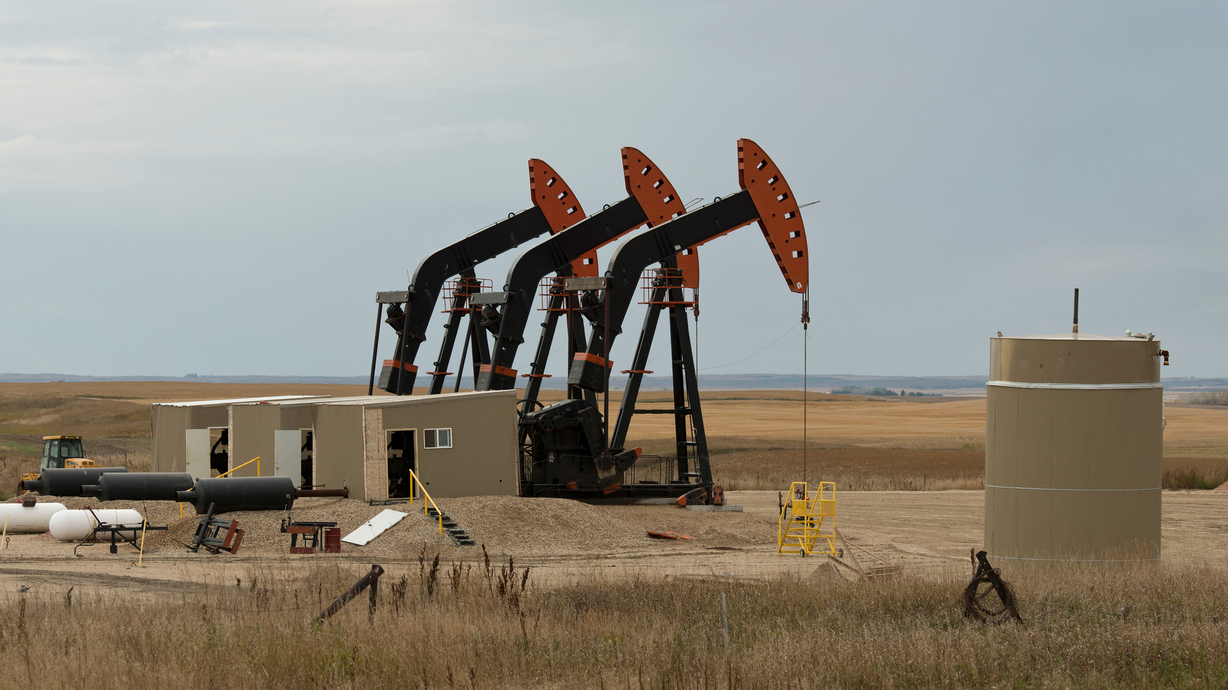 Oil Wells in North Dakota