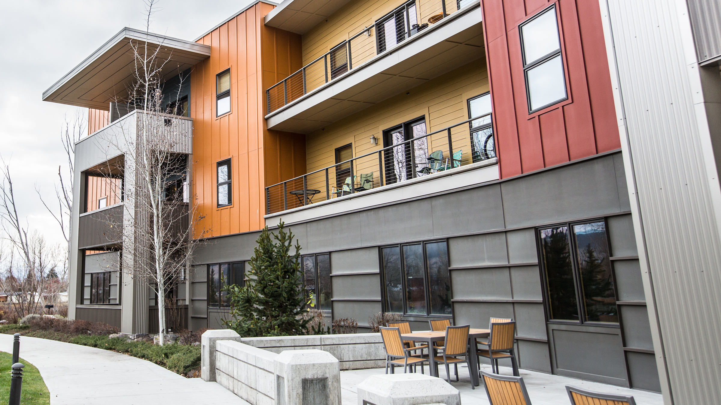 Solstice Apartments, an affordable housing community in Missoula, Mont.