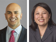 Neel Kashkari and MayKao Hang