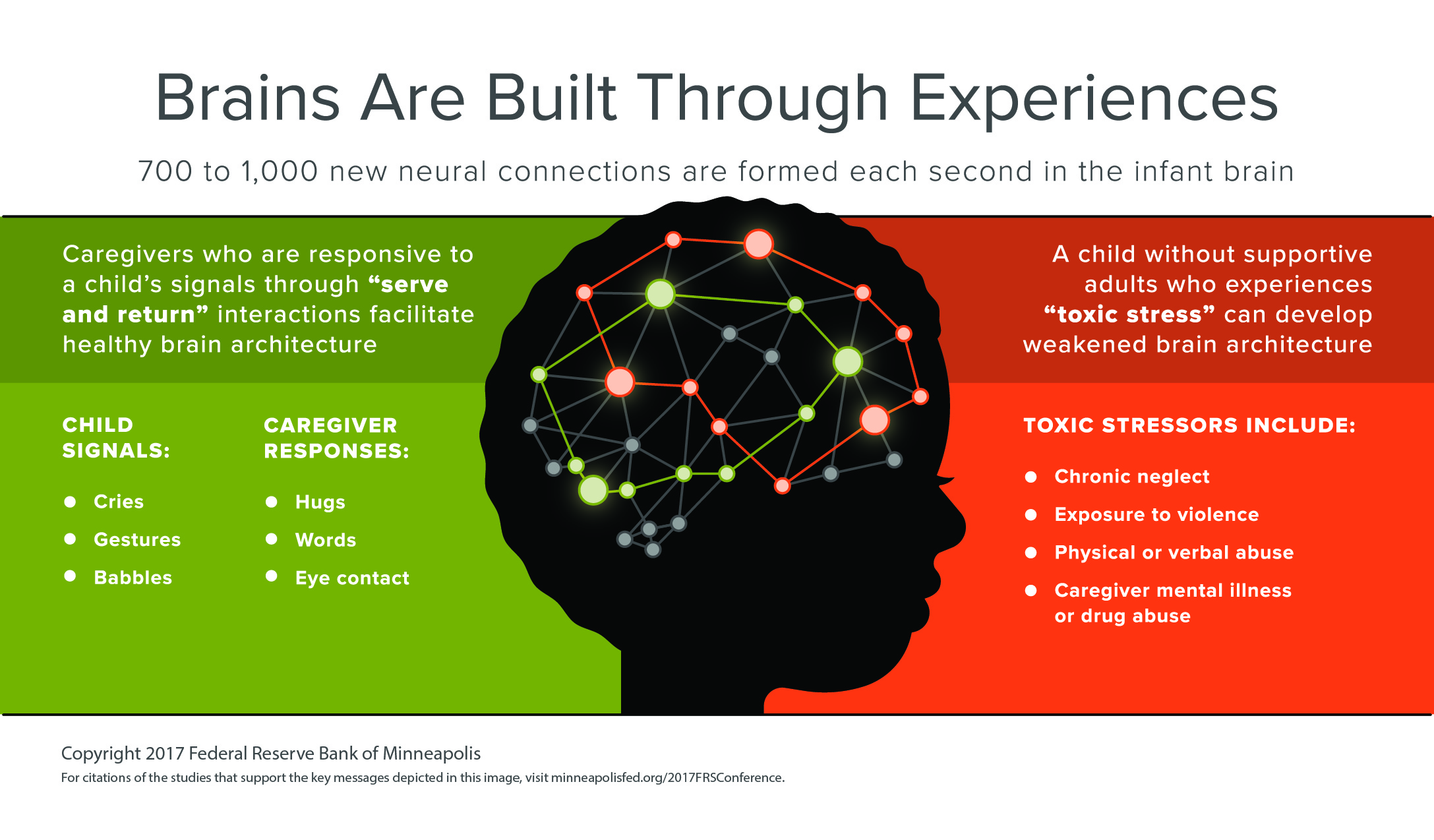 Brains Are Built Through Experiences