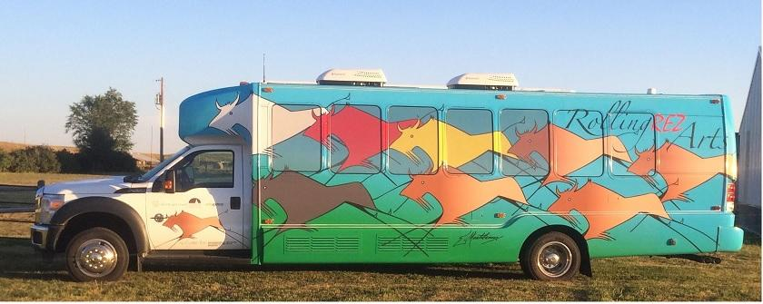 Rolling Rez Arts Bus