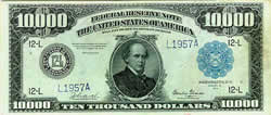 Federal Reserve Note, 1914, $10,000