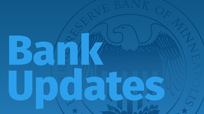 bank updates key