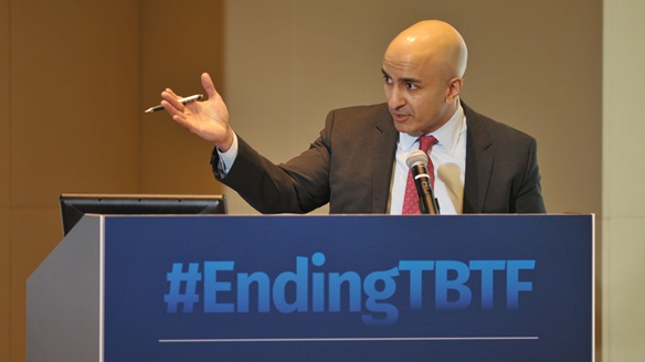 Neel Kashkari at Ending TBTF first symposium