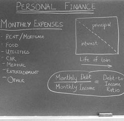 Personal Finance on Blackboard