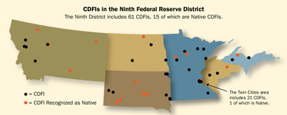 CDFIs in the Ninth Federal Reserve District