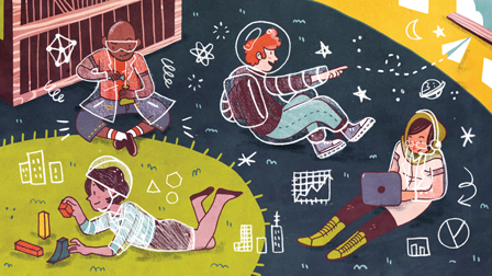 To better prepare low-income students for the future, some educational institutions, nonprofit organizations, and for-profit companies in Minnesota are implementing programs that are intended to kindle a passion for STEM (science, technology, engineering, and math) learning, from preschool onward. (Illustration by Ann Macarayan)