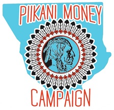 Piikani Money Campaign Logo
