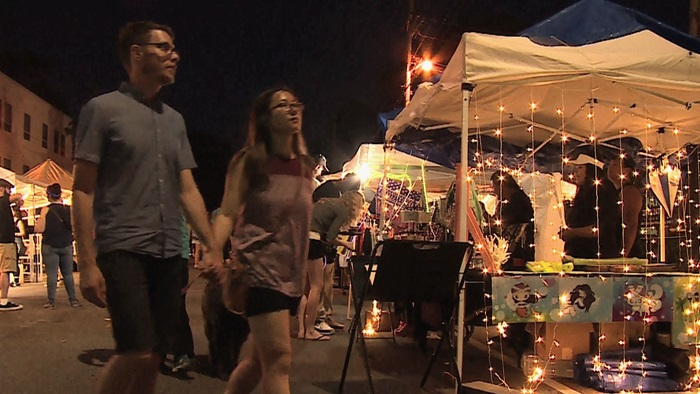 Little Mekong Night Market Video Still, Key Image