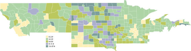 District Banking Maps | Federal Reserve Bank of Minneapolis