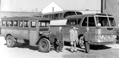 Greyhound buses from 1916