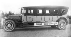 Photo mesaba Transportation Bus, 1920