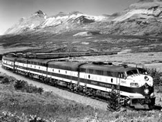 Photo: Empire Builder, 1955