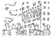 Rental illustration