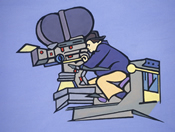 Illustration: Film Camera Operator