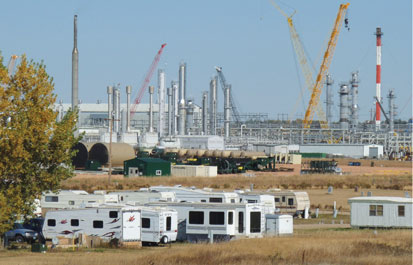 Hess is expanding and upgrading its gas processing plant in Tioga, N.D.