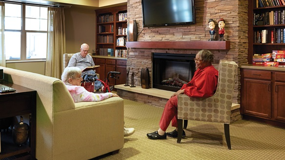 Assisted living providers like Minnehaha Senior Living strive for a homelike atmosphere.