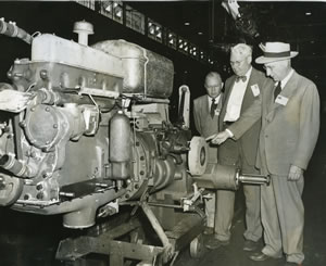 Photo: Tractor manufacturing