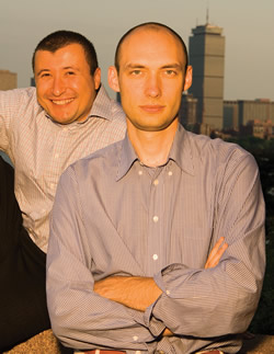 Photo: Oleg Tsyvinski and Mike Golosov