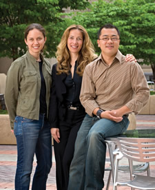 Photo: Christina Arellano, Alessandra Fogli and Henry Siu