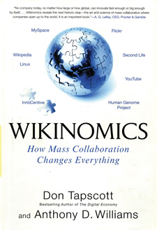 Wikinomics Book Cover