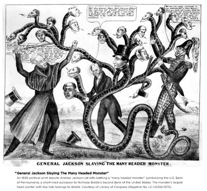 Image: General Jackson Slaying the Many Headed Monster