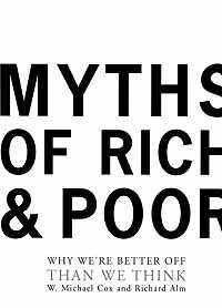 Myths of Rich and Poor Book Cover Image
